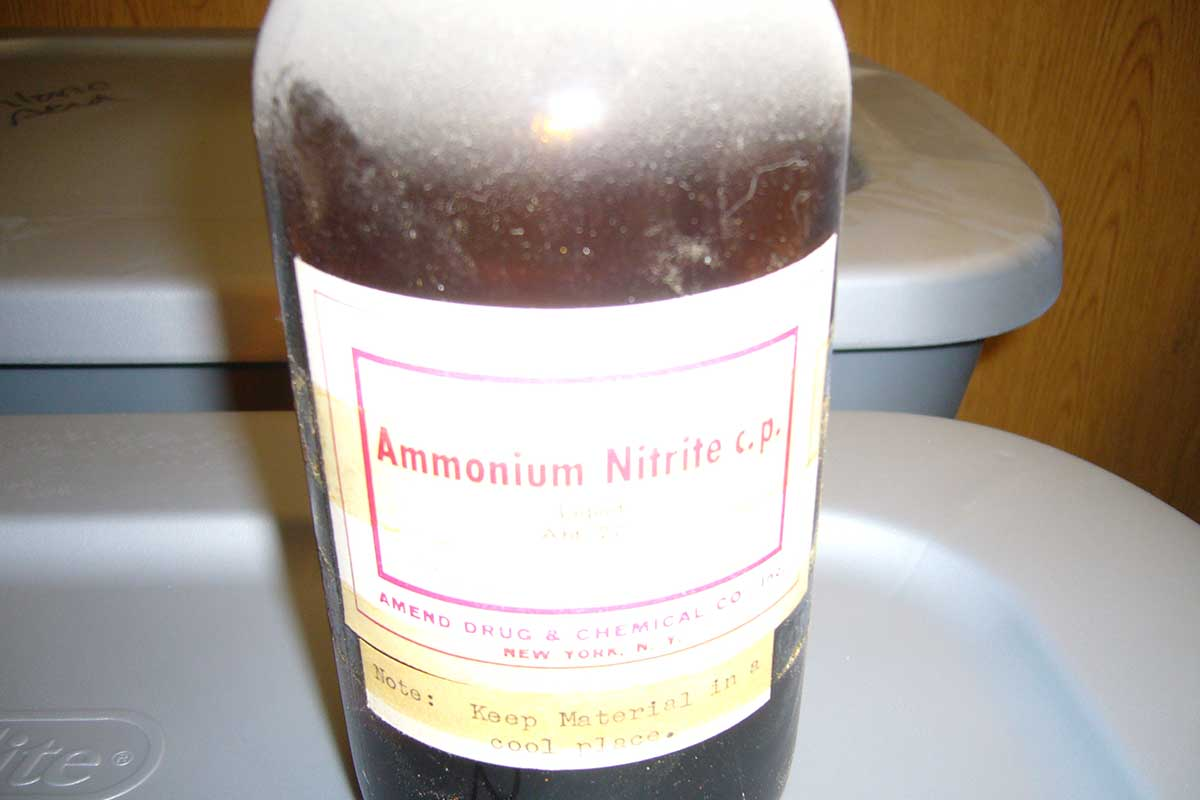 ammonium-nitrite-forbidden-for-transportation